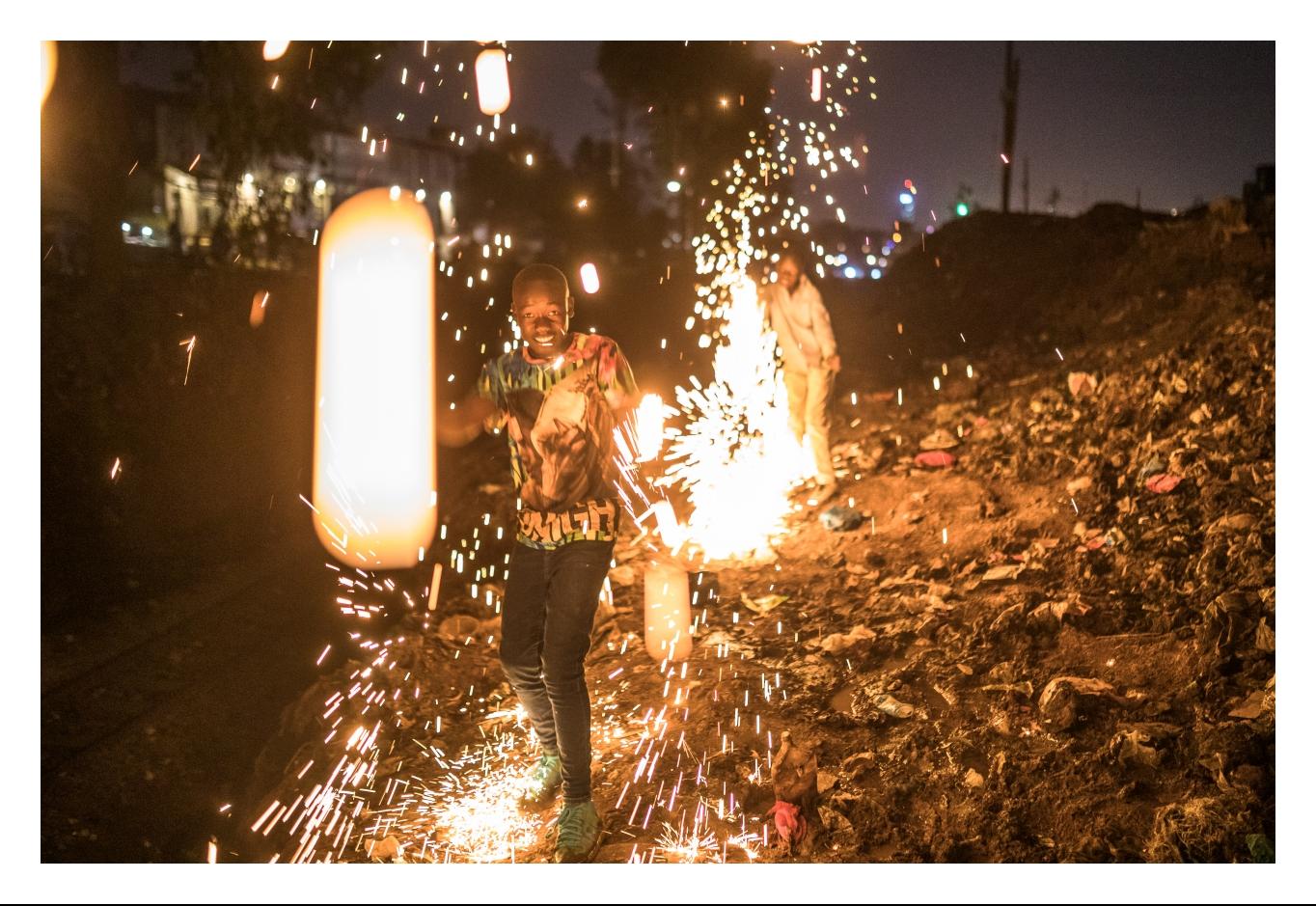 Fireworks Boy